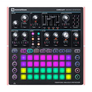 Novation paraphonic synth module img