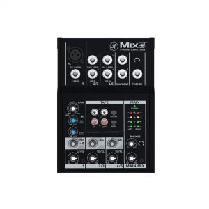 Mackie mix5 img