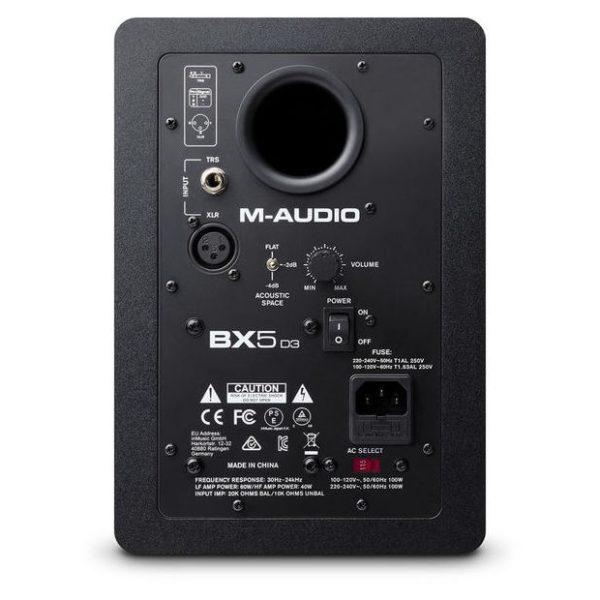 M audio bx d3 back
