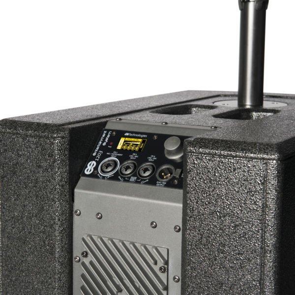 Es1203 woofer display dbtechnologies