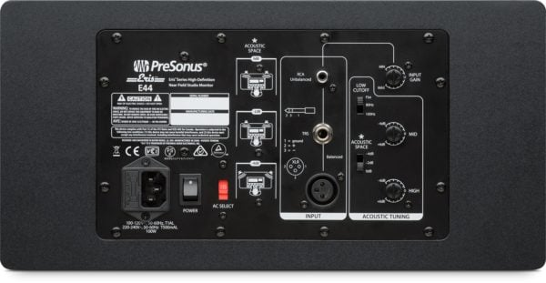 Presonus eris e44 back big
