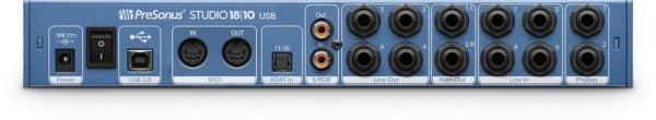 Presonus studio 1810 back big