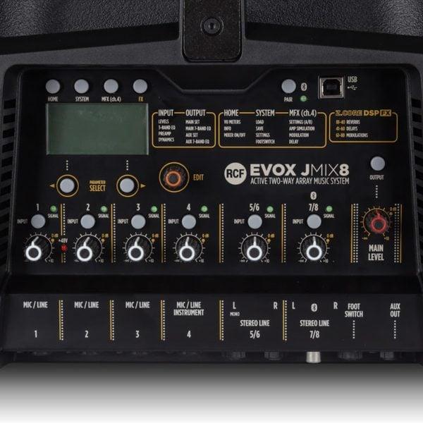 Evox jmix8 panel
