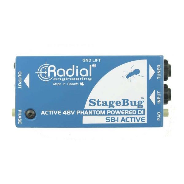 Radial stagebug sb 1 active di box