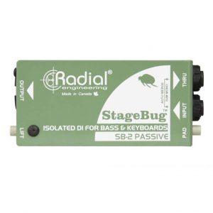 Radial stagebug sb 2 passive di box