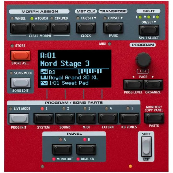 Nord stage 3 88 panel2