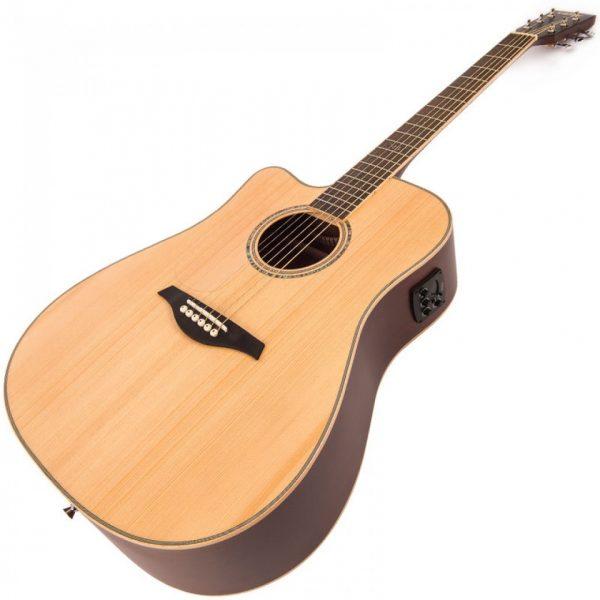 Pr63466bi24251 lvec550n vintage left handed electro acoustic satin natural imd