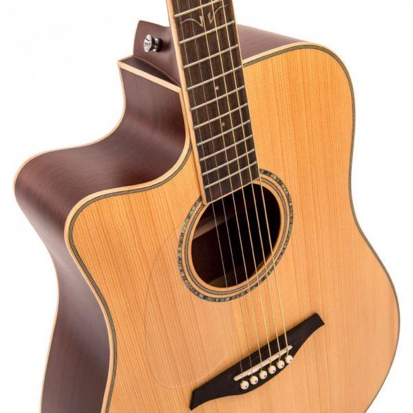 Pr63466bi24254 lvec550n vintage left handed electro acoustic satin natural imd
