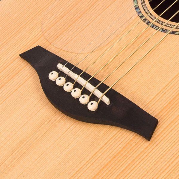 Pr63466bi24257 lvec550n vintage left handed electro acoustic satin natural imd