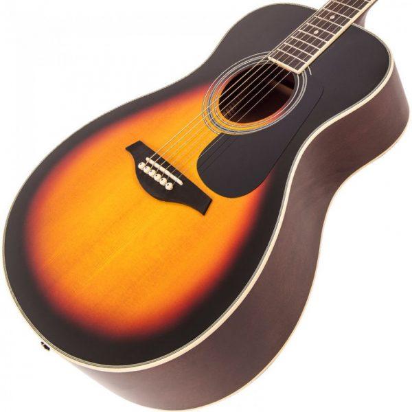 Pr369bi24360 v300vsb vintage folk guitar solid top vintage sunburst imd
