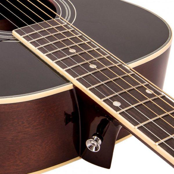 Pr369bi24361 v300vsb vintage folk guitar solid top vintage sunburst imd