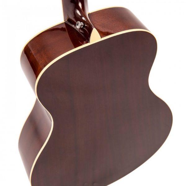 Pr369bi24364 v300vsb vintage folk guitar solid top vintage sunburst imd