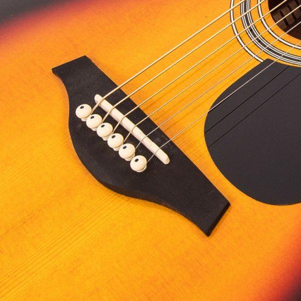 Pr369bi24365 v300vsb vintage folk guitar solid top vintage sunburst imd
