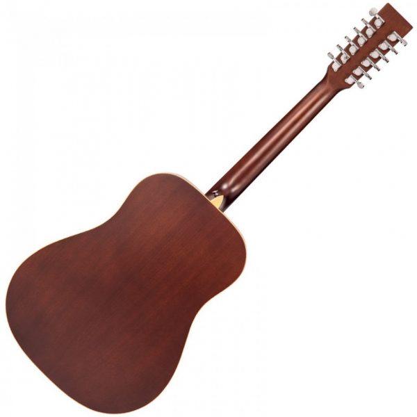Pr377bi23963 v501 12 vintage acoustic 12 string guitar satin natural imd