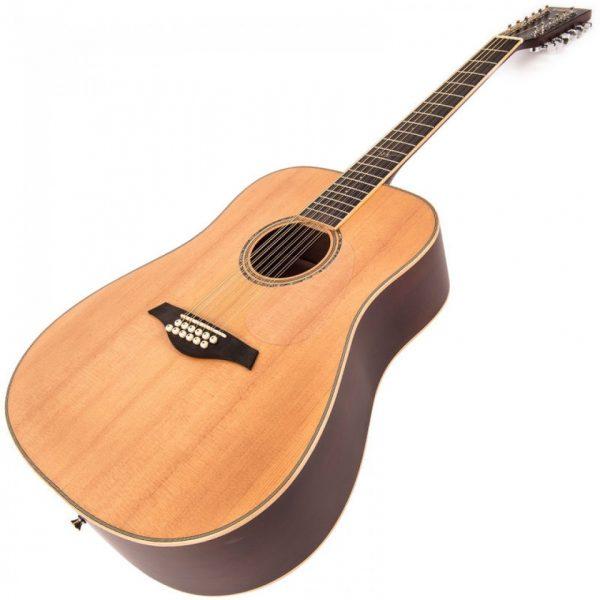 Pr377bi24106 v501 12 vintage acoustic 12 string guitar satin natural imd