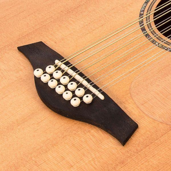 Pr377bi24111 v501 12 vintage acoustic 12 string guitar satin natural imd