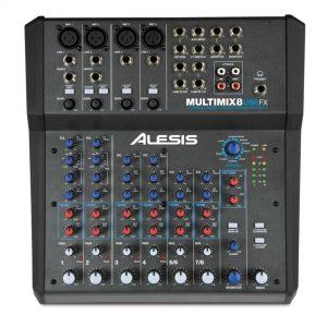 Alesis multimix8 usb fx up