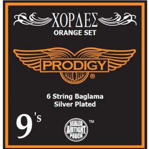 Prodigy orange 9s xορδές Μπαγλαμά53752