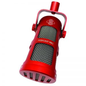 Podcastpro red angle