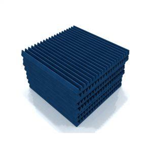 Classic wedge 60 foam tile blue x8 2048x2048
