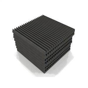 Classic wedge 60 foam tile grey 2048x2048