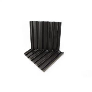 Eq acoustics quadratic diffuser black 2 pack