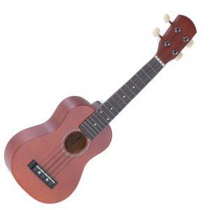 Gewa soprano ukulele brown img