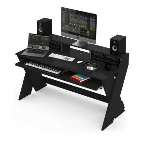 243151 glorious sound desk pro black
