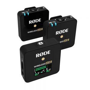 Rode wireless go ii Ασύρματο Μικρόφωνο Πέτου (Σετ)838214